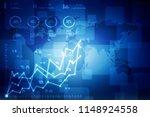 2d rendering stock market...   Shutterstock . vector #1148924558