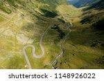 summer view of transfagarasan... | Shutterstock . vector #1148926022