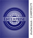 enterprise emblem with jean... | Shutterstock .eps vector #1148950175