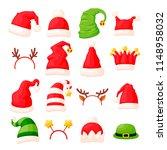 vector set of various... | Shutterstock .eps vector #1148958032