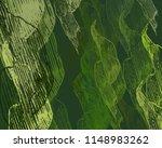 contemporary art. hand made art.... | Shutterstock . vector #1148983262
