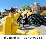 valencia  april 08  gulliver... | Shutterstock . vector #1148991155