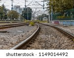 railway station in zagreb on a... | Shutterstock . vector #1149014492
