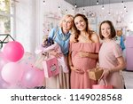 future parenthood. three...   Shutterstock . vector #1149028568
