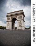 arc de triomphe  arch of...   Shutterstock . vector #1149059945