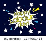 happy labour day  beautiful... | Shutterstock .eps vector #1149061415