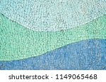 tiled ceramic mosaic wall with...   Shutterstock . vector #1149065468