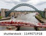 newcastle england   june 27th... | Shutterstock . vector #1149071918