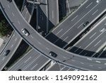 aerial view of highway and... | Shutterstock . vector #1149092162