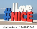 nice  france   july  2018 ... | Shutterstock . vector #1149099848