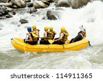 Raft White Water Ecuador...
