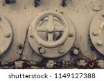 obsolete heavy industrial valve | Shutterstock . vector #1149127388