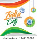 independence day india 15th of... | Shutterstock .eps vector #1149133688