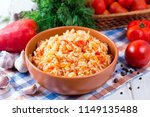 Rice With Tomatoes And Sweet...