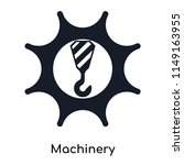 machinery icon vector isolated...   Shutterstock .eps vector #1149163955