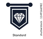 standard icon vector isolated... | Shutterstock .eps vector #1149166982
