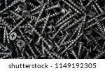 many self tapping screws... | Shutterstock . vector #1149192305