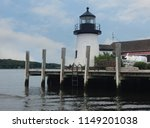 lighthouse at mystic seaport ...   Shutterstock . vector #1149201038