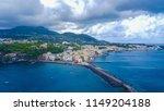 landscape in ischia  italy... | Shutterstock . vector #1149204188
