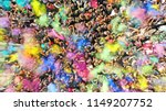 aerial top view of a holi... | Shutterstock . vector #1149207752