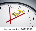 an image of a nice clock... | Shutterstock . vector #114921538