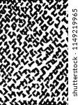trendy handdrawn checkered... | Shutterstock . vector #1149219965