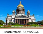 Saint Isaac's Cathedral In St....
