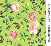 watercolor sketch lavender | Shutterstock . vector #1149224948