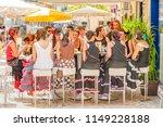 malaga  spain   august 11  2012 ... | Shutterstock . vector #1149228188