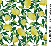 watercolor seamless pattern... | Shutterstock . vector #1149262892