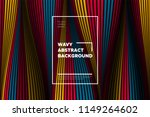 distortion of lines. modern... | Shutterstock .eps vector #1149264602