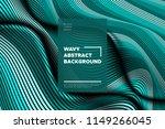 curve lines background. vector... | Shutterstock .eps vector #1149266045