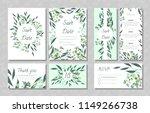 eucalyptus design. wedding... | Shutterstock .eps vector #1149266738