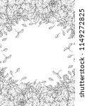 autumn background layout frame...   Shutterstock .eps vector #1149272825