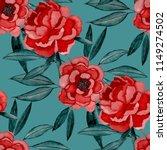 watercolor seamless pattern... | Shutterstock . vector #1149274502