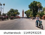 marrakesh  morocco   july 25th... | Shutterstock . vector #1149293225
