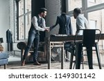 sharing ideas. two young...   Shutterstock . vector #1149301142