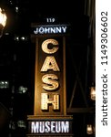 Johnny Cash Museum  Lighted...
