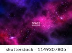 space background with colorful... | Shutterstock .eps vector #1149307805