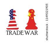trade war background   Shutterstock .eps vector #1149321905