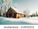 Snowy Hills In Russian...