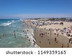 huntington beach  ca   usa ... | Shutterstock . vector #1149359165