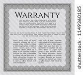 grey vintage warranty... | Shutterstock .eps vector #1149360185