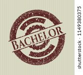 red bachelor with rubber seal...   Shutterstock .eps vector #1149380375