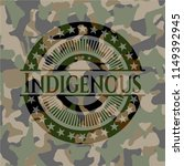 indigenous on camouflaged... | Shutterstock .eps vector #1149392945