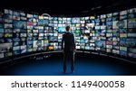 video archives concept. | Shutterstock . vector #1149400058