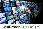 video archives concept. | Shutterstock . vector #1149400175