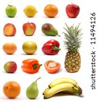healthy nutrition isolated on... | Shutterstock . vector #11494126