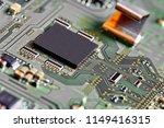 electronic circuit board close... | Shutterstock . vector #1149416315