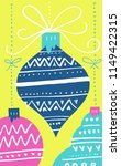 christmas card template with...   Shutterstock .eps vector #1149422315